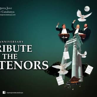 25 años del primer concierto de Los Tres Tenores.