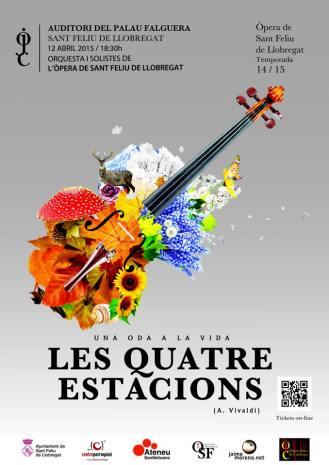 Las cuatro estaciones de Vivaldi, el mejor concierto de la temporada sinfónica.