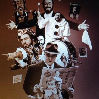 Carlos Muñoz, tenor colombiano, rinde un homenaje al granjero Luciano Pavarotti.
