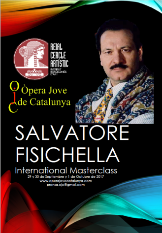 International Masterclas Salvatore Fisichela. Opera Jove de Catalunya